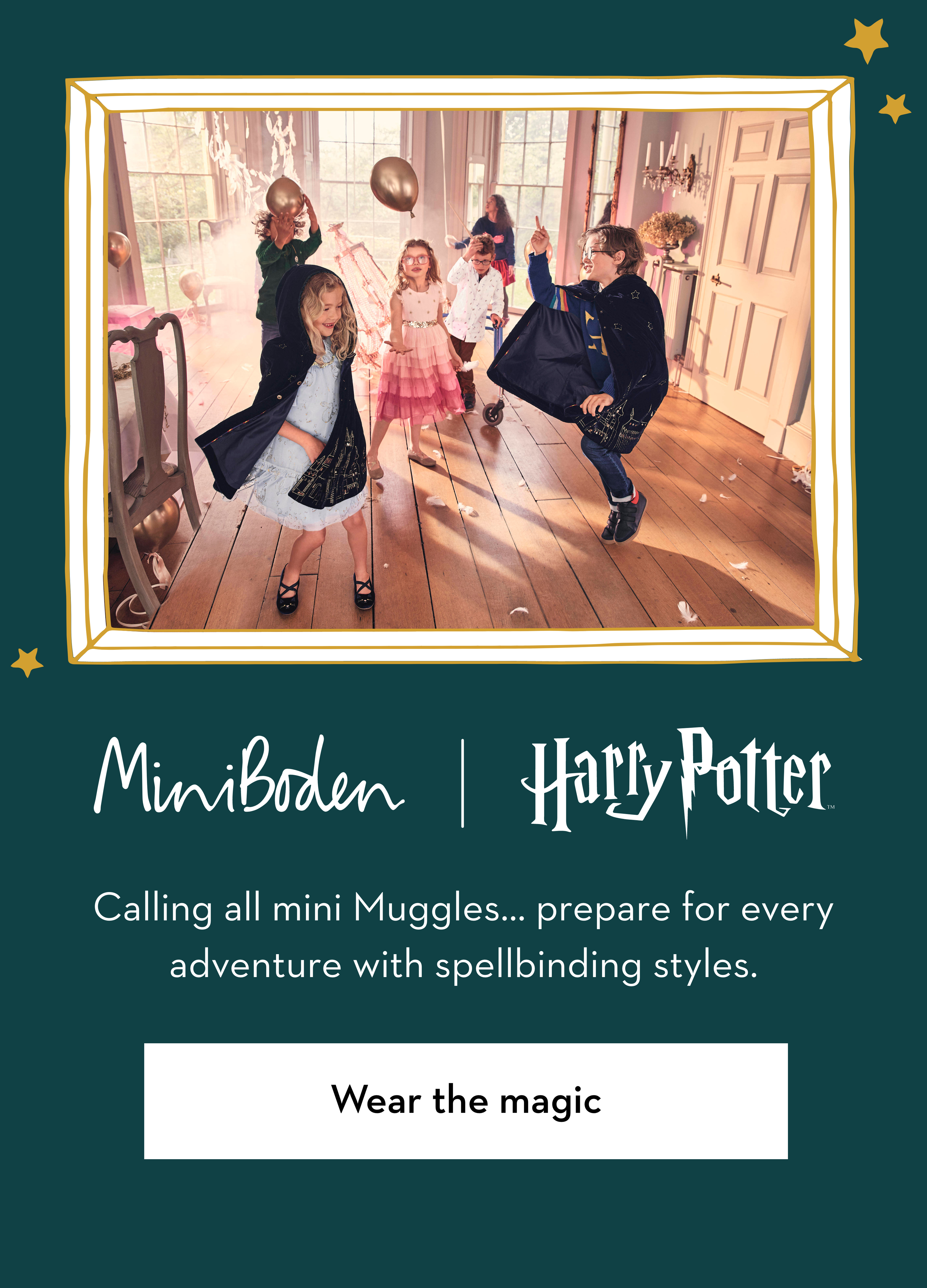 Harry Potter Wear the magic
