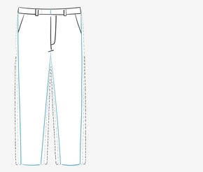 Men's Trouser Fit Guide